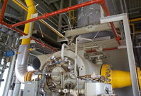Process Plant Interior - Oil, Gas & Petrochemical Division
