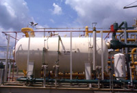 Process Plant Exterior - Oil, Gas & Petrochemical Division